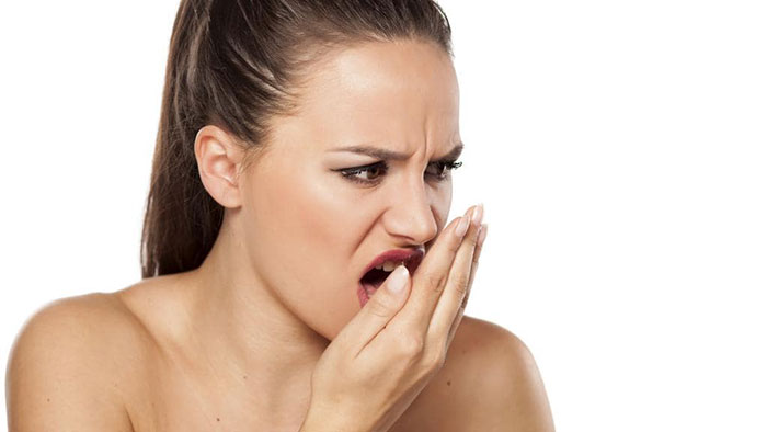 image for reasons that cause bad breath
